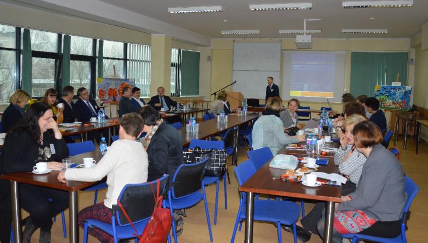 Konferencja naukowo-jubileuszowa zokazji 25-lecia Zespołu Szkół Podstawowej nr 10 iGimnazjum nr 27 STO