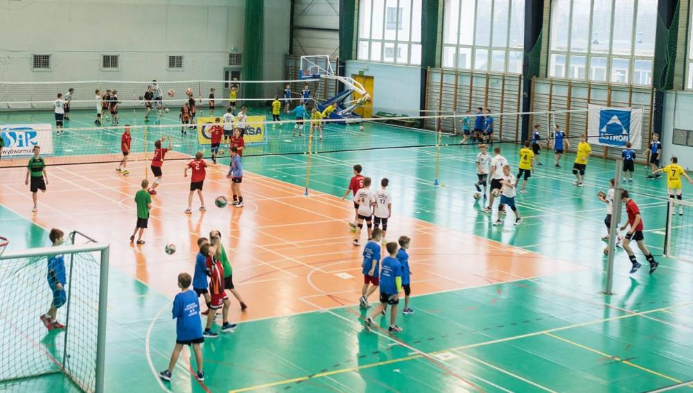 Turniej mini-siatkówki
