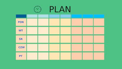 Plan lekcji idzwonki