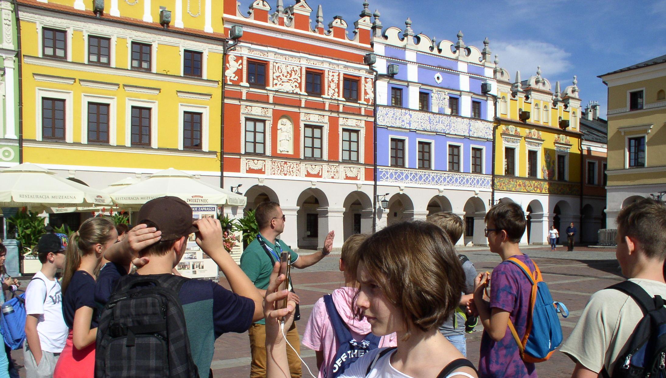 Zamość, Krasnobród, Lublin